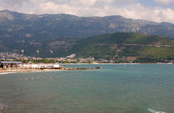 Montenegro coast Royalty Free Stock Photo