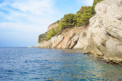 Montenegro coast Royalty Free Stock Image