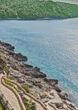 Montenegro coast Royalty Free Stock Photo