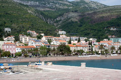 Montenegro coastline Stock Photo