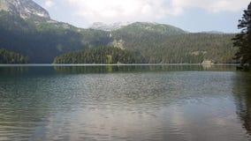 Montenegro, Czarny jezioro w Durmitor parku zbiory wideo