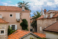 Montenegro, de Balkan, Europa. Royalty-vrije Stock Foto