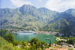 Montenegro - de parel van de Adriatische kust Stock Afbeelding