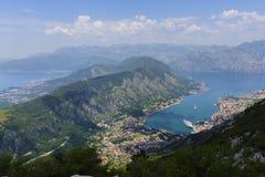 Montenegro - de parel van de Adriatische kust Stock Foto