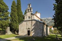 montenegro De stad van oude die Bar door de aardbeving wordt beïnvloed Royalty-vrije Stock Foto