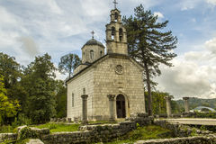 montenegro Der Nationalpark Durmitor Schwarzer See Lizenzfreie Stockfotografie