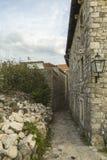 montenegro Dulcigno Vecchia città Fotografie Stock
