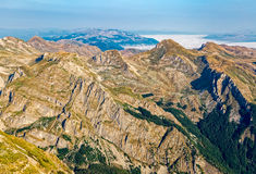 Montenegro Durmitor national park - aerial Stock Images