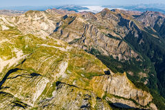 Montenegro Durmitor national park - aerial Royalty Free Stock Photo