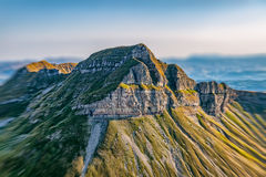 Montenegro Durmitor national park - aerial Royalty Free Stock Images