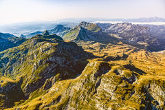 Montenegro Durmitor national park - aerial Stock Photography
