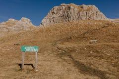 Montenegro, Durmitor National Park , Bobatov Kuk - Image royalty free stock photo