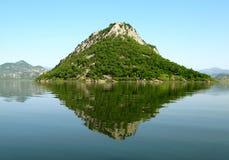 Montenegro eiland Stock Fotografie