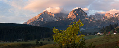Montenegro. Fall in Durmitor National Park Royalty Free Stock Photography