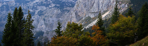 Montenegro. Fall in Durmitor National Park Royalty Free Stock Photo
