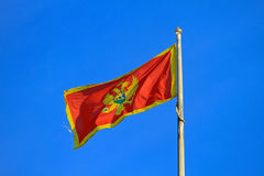 Montenegro flag Stock Photos
