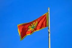Montenegro flag Stock Photos