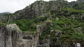 Montenegro,fortress Stock Images