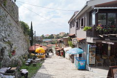 Montenegro - gammal stång Royaltyfria Bilder