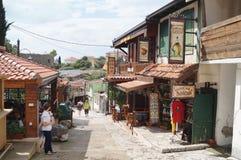 Montenegro - gammal stång Arkivbilder