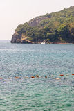 Montenegro: in the Gulf old Budva Royalty Free Stock Photography