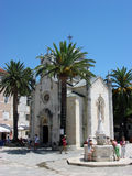 Montenegro. Herceg Novi. Summer in Montenegro. Herceg Novi Royalty Free Stock Photography