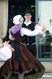 Montenegro, Herceg Novi - 28/05/2016: Dance folk group Iskraemeco from Kranj, Slovenia Stock Photography