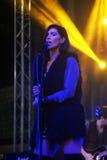 Montenegro, Herceg Novi - 28.10.2015: Tijana Sretkovich, singer of the famous group Neverne bebe. Stock Images