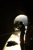 Montenegro, Herceg Novi - 31/08/2014: Uliczni muzycy zdjęcia stock