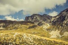 montenegro Het Nationale Park van Durmitor Stock Afbeelding