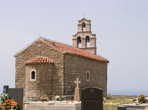 Montenegro Hill Church Stock Photos