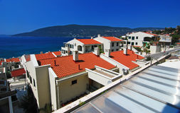Montenegro. Houses in Montenegro in the afternoon Stock Images