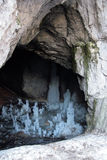 Montenegro. Ice cave Stock Photo