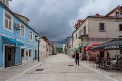 Montenegro Juni 2014 Arkivbild