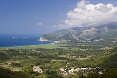 Montenegro-Küste Lizenzfreies Stockbild