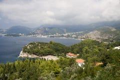 Montenegro-Küste Lizenzfreie Stockfotos