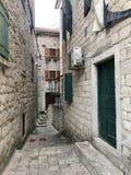 Montenegro, kotor fotografia de stock