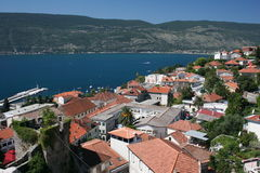 Montenegro,kotor. Kind from a wall of old city Stock Photos