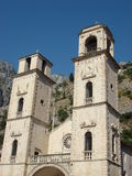 Montenegro. Kotor. Montenegro. Adriatic sea. Kotor. Church Royalty Free Stock Image