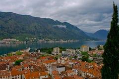 Montenegro Kotor Arkivbild