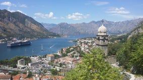 Montenegro-Kotor Arkivbilder