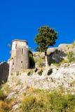 Montenegro, Kotor, antyczny forteca Obrazy Royalty Free