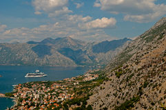 Montenegro. Kotor bay Stock Photo