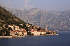 Montenegro Kotor Bay, Perast Stock Photography
