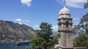 Montenegro Kotor. Mountains, landscape, summer Stock Photos