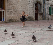 Montenegro, Kotor Old city, Jun 2014 Royalty Free Stock Photography