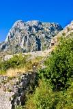 Montenegro, Kotor, stary miasteczko, antyczny forteca Zdjęcie Royalty Free