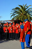 Montenegro, Kumbor - 02/06/2016:City Orchestra and arrows. Stock Image