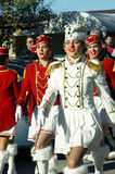 Montenegro, Kumbor - 02/06/2016: Procession of the city Herceg Novi majorettes Stock Photos