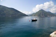 Montenegro. La bahía de Kotor Imagen de archivo